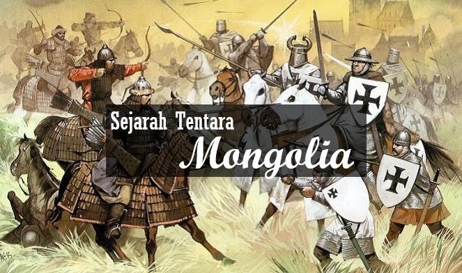 Sejarah Tentara Mongolia